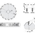 Pilový kotouč SK  250x3,2/2,2x30  5390    48 DHZ - PILANA