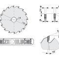 Pilový kotouč SK  350x3,6/2,5x30  5390    72 DHZ - PILANA