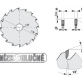 Pilový kotouč SK  220x3,2/2,2x30  5390    42 DHZ - PILANA