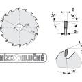 Pilový kotouč SK  350x3,6/2,5x30  5398-11  108 WZ L - PILANA