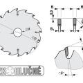 Pilový kotouč SK  500x4,0/3,2x30  5387-13  120 TFZ N - PILANA