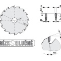 Pilový kotouč SK  300x3,2/2,2x30  5397-13    72 TFZ L - PILANA