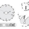 Pilový kotouč SK  300x3,2/2,2x30  5381-16    64 WZ - PILANA